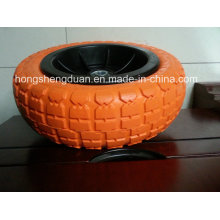3.00-4PU Form Wheel mit Fe Rim Hot Sell an MID East