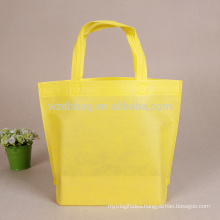 Best Seller Custom Logo Non Woven Tote Shopping Bag With Bottom No Side