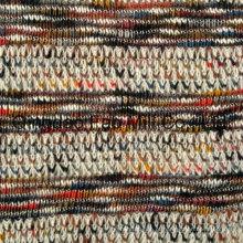 Poly Rayon algodão tecido de malha estiramento