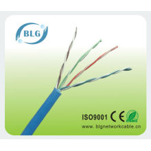CE Certified Cat5e network cable CCA/CU/CCS Material conductor