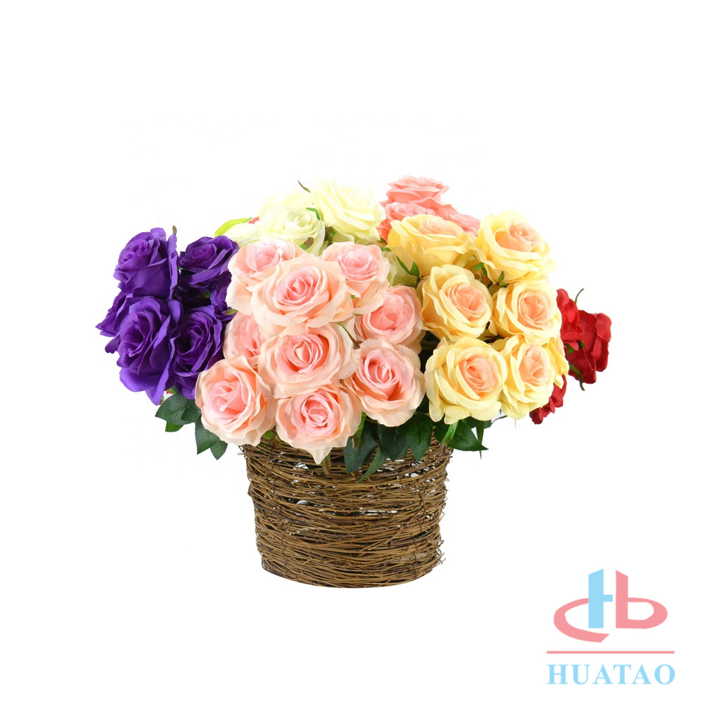 dry-wedding-decoration-plastic-flower-wall-ball (5)