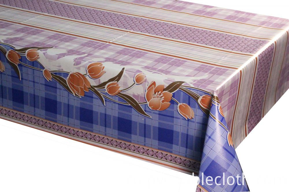 vinyl Tablecloth with Non-woven Back