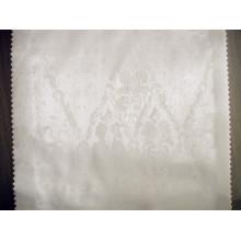 Tejido de franja de algodón blanco para hotel y textiles para el hogar