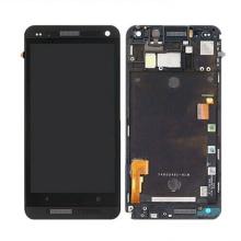 LCD pour téléphone portable pour HTC One M7 Touch Digitizer avec cadre