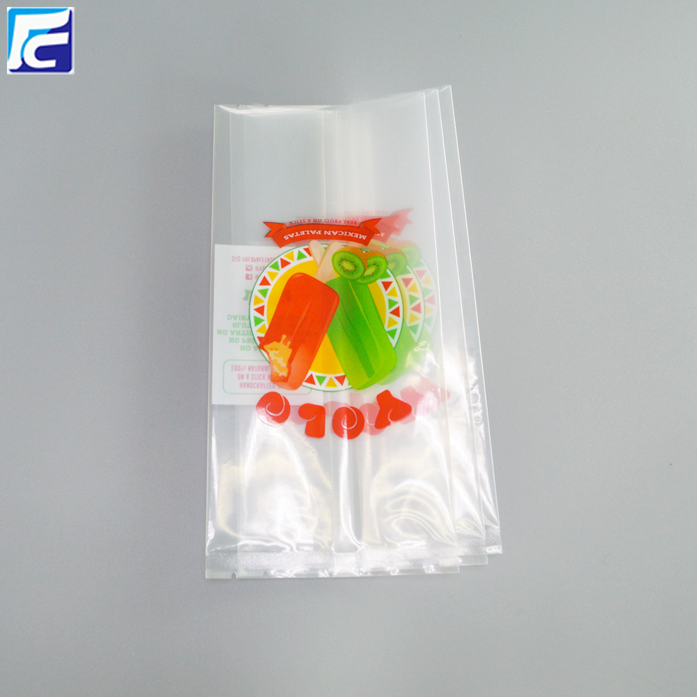 Clear Popsicle Bag