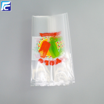 Clear Ice Popsicle Packaging Bag