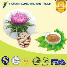 Gold Suppliers Liver Support Silymarin Capsules , Milk Thistle Seed Extract Capsule