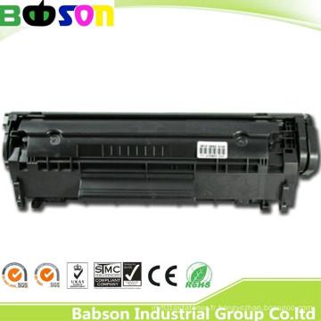 Toner compatible Q2612A pour gagner l'éloge chaud des clients