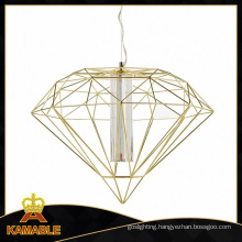 Hotel Metal Diamond Modern LED Pendant Lighting (MD21380-1A-600)