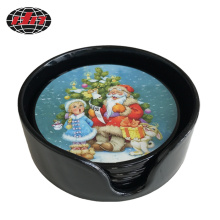 Santa Claus Plastic Placemat with Printing