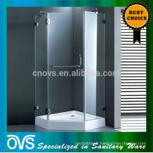 cadre de douche rond en aluminium
