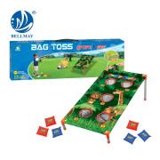 2017 Novo produto Indoor & Outdoor Bag Toss Sandbags Plate Toy