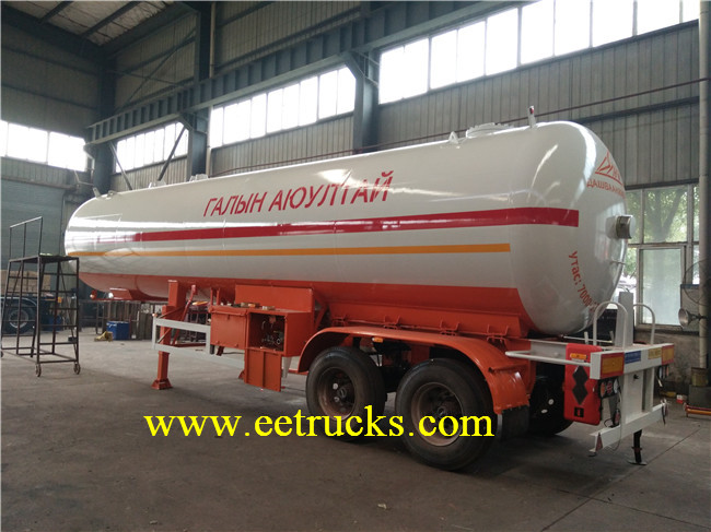 40000L LPG Trailer Tanks