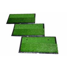 Portátil venta caliente Golf Swing Training Mat Golf Swing Practice Mat