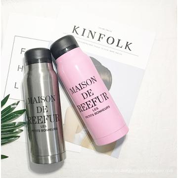 Koreanische Birnen-Blumen-Mode-Edelstahl-Wasser-Flasche