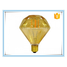 Edison creative retro lamp bulb E27 Filament LED bulb 110 v 220V D95 diamonds