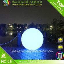 LED Outdoor Ball Lights Changement de couleur pour le sondage de natation