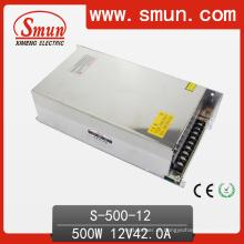 Alimentação de comutação de saída única 500W 12VDC 40A