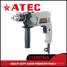 600W 0-2800rpm Hustiement Hammer Tool Impact Electric Drill (AT7216B)