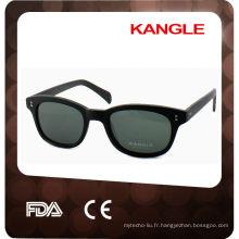 Lunettes de soleil en acétate style 2014, lunettes de soleil CE