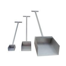 Pá de amostra de aço inoxidável de alta qualidade com preço de fábrica