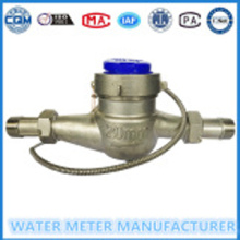 Stainless SteelMulti Jet Dry Dial PulseOutput WaterMeter