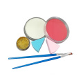 Cepillos de esponja Glitter face painting supplies