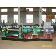 Two Roll Rubber Open Mixer