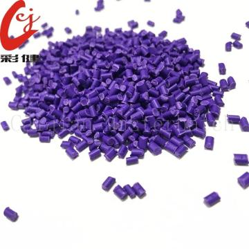 China for Plastic Color Masterbatch Purple Non-halogen Cable Masterbatch Granules export to Italy Supplier