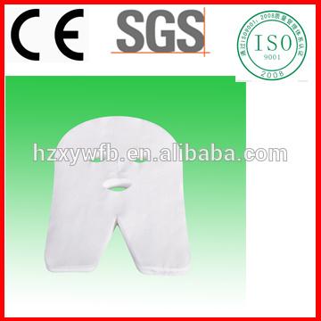 Pano DIY ou máscara facial cosmética comprimida de papel