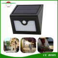 New Arrival 28LED Wireless Solar Wall Lamp Outdoor Garden Light with PIR Sensor and Dim Mode