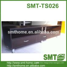 Commercial melamine MDF PB modern tv bench