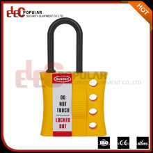 Elecpopular Popular 2016 Hot Sell Yellow Insulation Cabinet Plastic Lockout Hasp