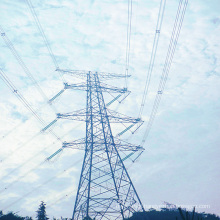 220 kV Corner Angle Iron Power Transmission Tower