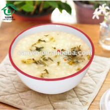 Vente en gros de cuvette à haute résistance en céramique à base de salade blanche