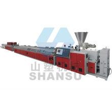 Fabricante de máquinas de plástico China para perfil WPC