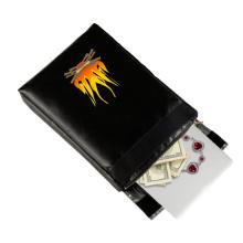 Bolso de dinero revestido del silicón incombustible del tenedor del archivo impermeable