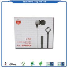 Handmade earphone electronic gift box