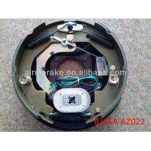 Placa de freno de tambor autoajustable eléctrica de 10 pulgadas