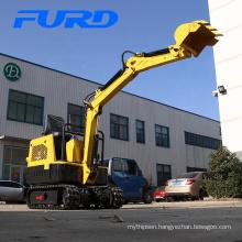 Hot sale construction equipment mini crawler excavator (FWJ-1000-13)