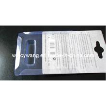 Embalaje blister plegable con cartón (HL-160)