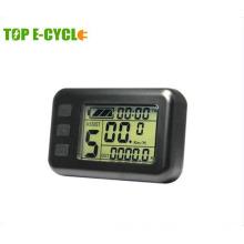 2017 popular ebike LCD display with waterproof or nominal plug