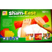 Paño de absorción de 10 paños de limpieza multiusos Shammy
