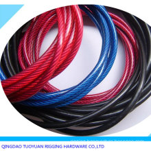 PVC Coated 7X7 Galvanized Steel Wire Rope 6mm