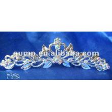 Diamond bridal tiara comb (GWST12-075)