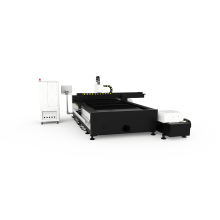 Placa de metal do CNC do preço de fábrica / cortador do laser fibra da tubulação