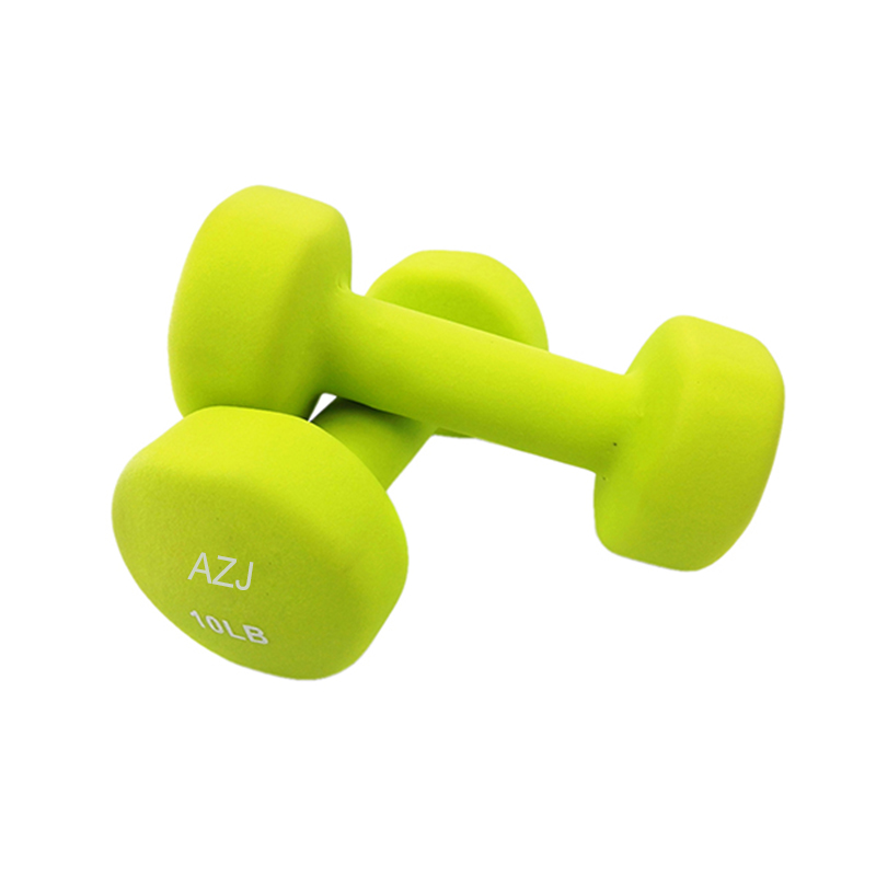 10lb Vinyl Coated Dumbbells