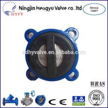Válvula de retención de aguas residuales PN10/PN16 con revestido de goma