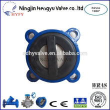PN10/PN16 sewage check valve with rubber coated