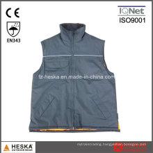 Oew Multi Pockets Winter Vest Mens Waistcoat